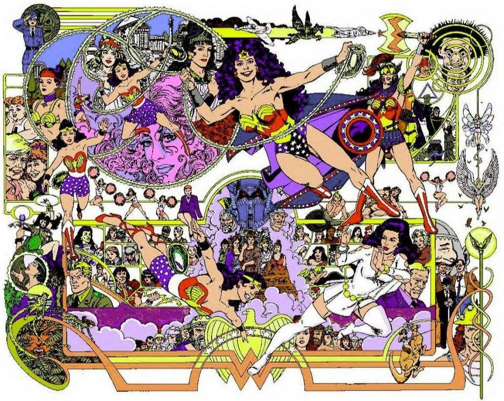 George Perez Wonder Woman Poster Happy birthday, George...