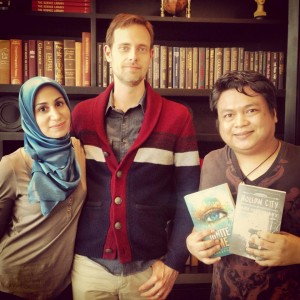 Tahereh Mafi, Ransom Riggs, and Yours Truly
