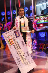 I Am Pogay 2014  Winner John Raspado Photo courtesy of http://www.abs-cbnnews.com