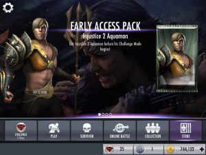 IJ2 Aquaman Early Access on IJ Mobile