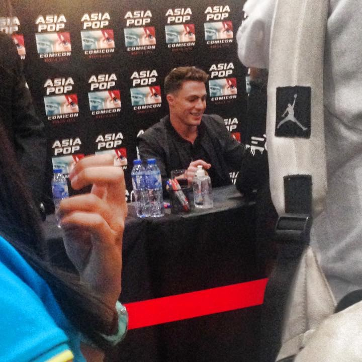 Colton at Asia Pop Comicon 2015